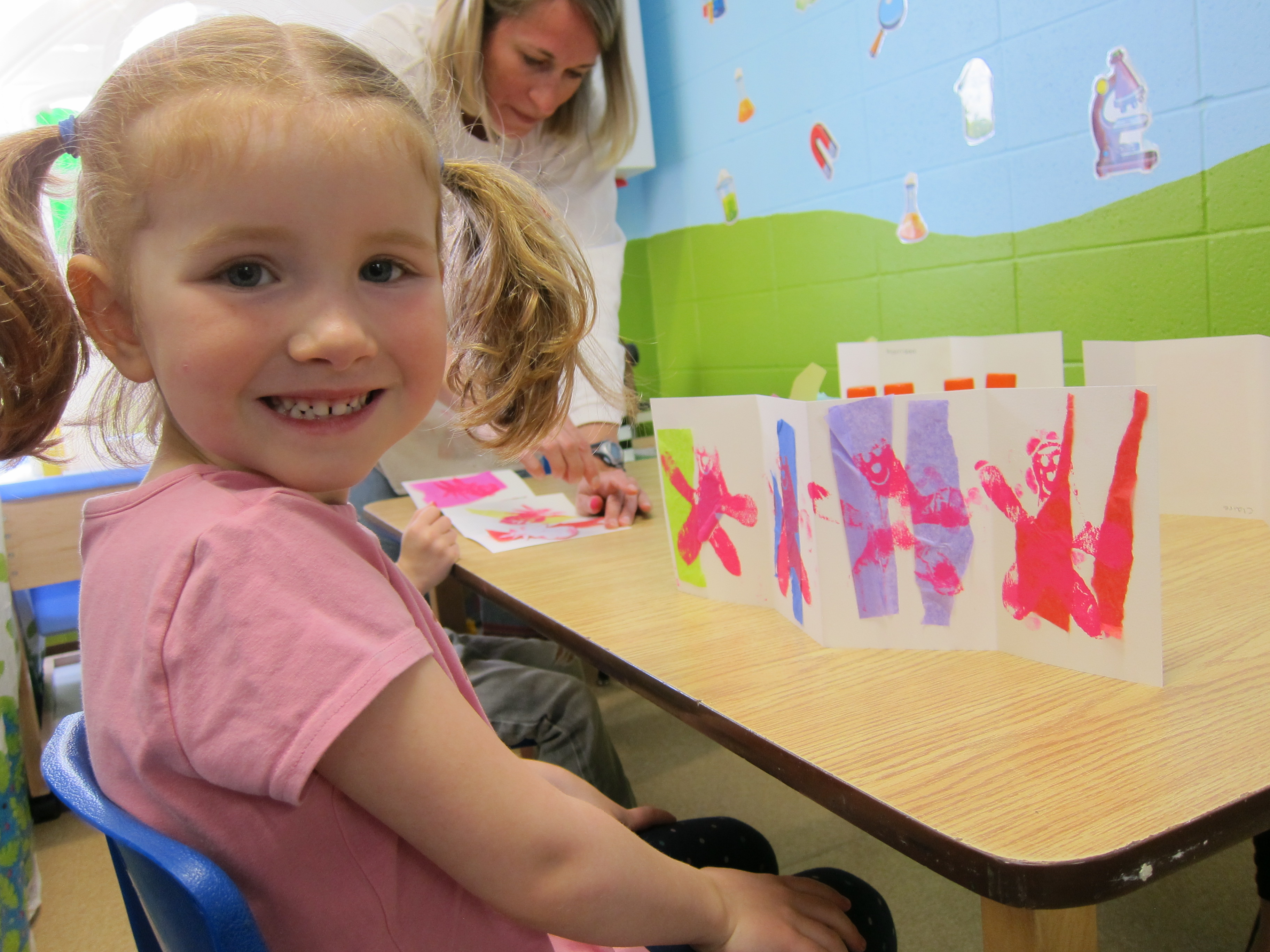 parkview preschool project four year class makes moody books 956
